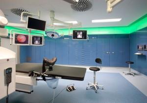powder-coated hospital cabinet