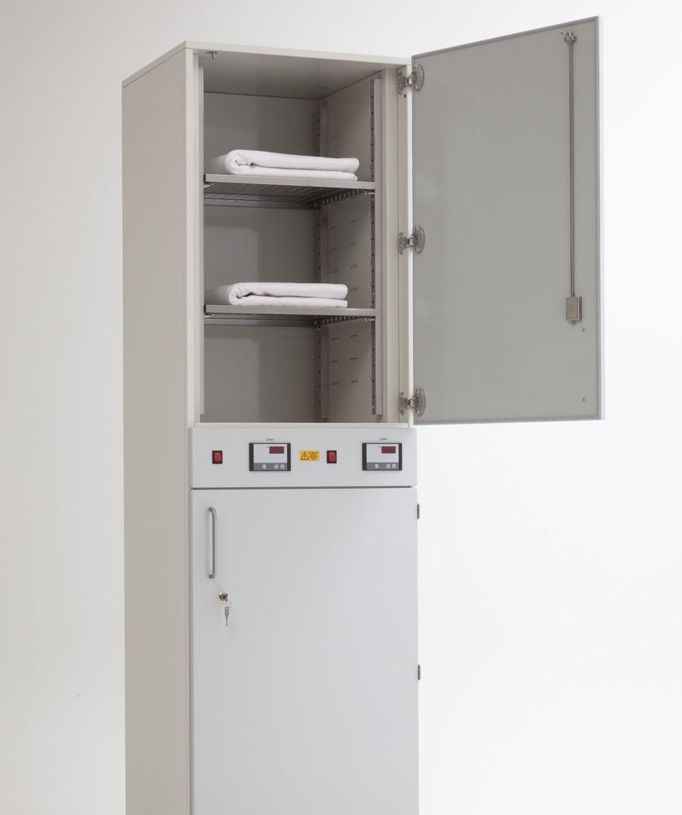 Umluftwärmeschrank für die Erwärmung von Infusionen, Kochsalzlösungen und OP-Tüchern